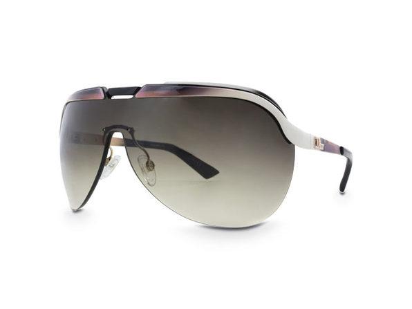 Dior Solar Sunglasses White/Brown - Product Image