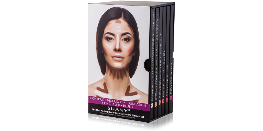 SHANY Mini-Masterpiece 6-Layer All-in-One Makeup Set