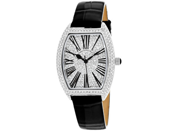 Christian Van Sant Women's Chic Silver Dial Watch - CV4840