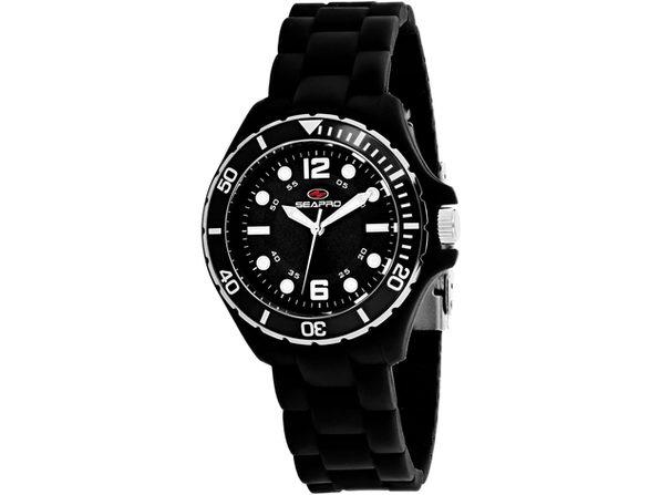 Seapro Women's Spring Black Dial Watch - SP3219