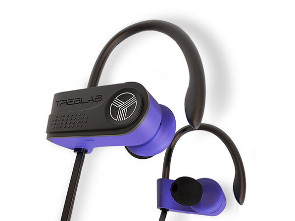 TREBLAB XR700 PRO Wireless Sports Earphones (Blue)