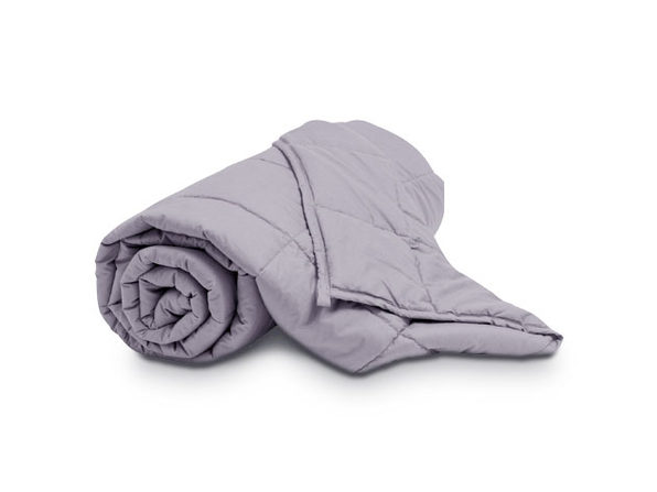 Puro Down Light Gray Weighted Blanket