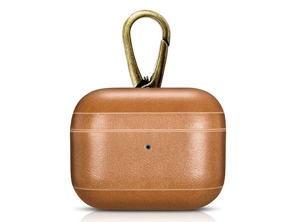 Genuine Leather Case for AirPods Pro (Camel)