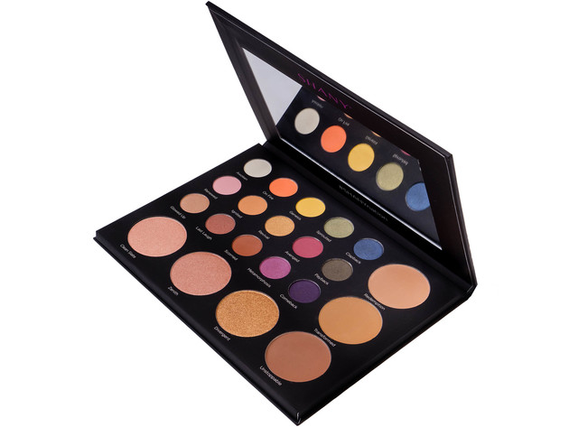 SHANY Revival Palette - 21-Color Eye & Cheek Palette with 15 Matte and Shimmer Eyeshadows, 3 Bronzers and 3 Highlighters - ORIGINAL for $24 5
