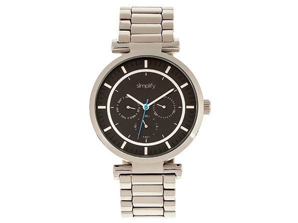 Simplify The 4800 Series Unisex Watch (Silver/Black)
