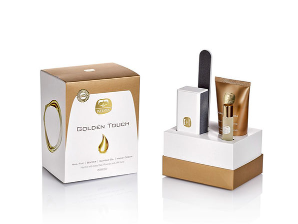 Golden Touch 4-Piece Nail Kit