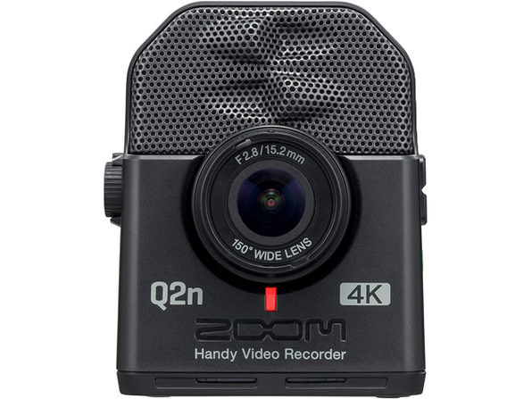 Zoom Video Recorder Q2n-4K 150° Wide-Angle Lens High Dynamic Smart Selector (Used, Damaged Retail Box)