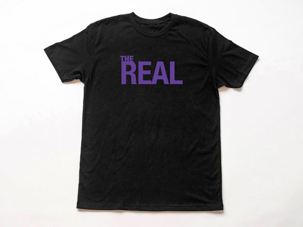 The Real Black T-Shirt
