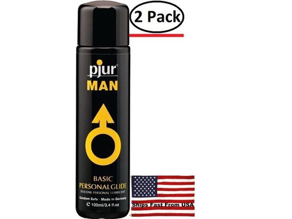 ( 2 Pack ) Pjur Man 100 ml