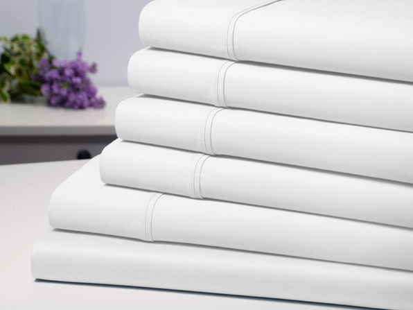 Bamboo Comfort 4 Piece Luxury Sheet Set - White (Twin) - Product Image