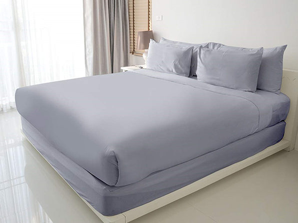 100% Egyptian Cotton Sheet Set (Navy/Queen)