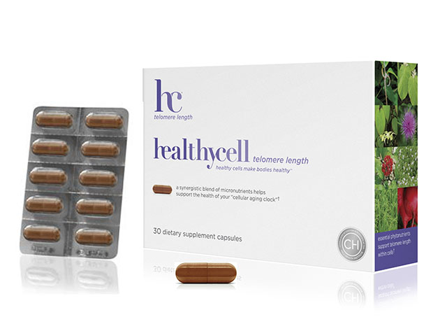 A box of healthycell telomere length