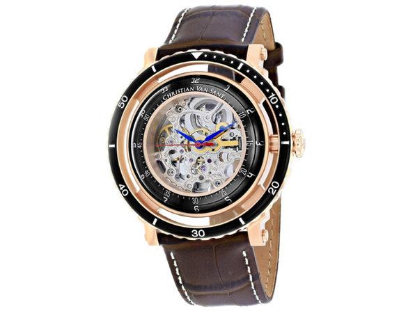Christian Van Sant Men's Dome Silver Dial Watch - CV0744 - Product Image