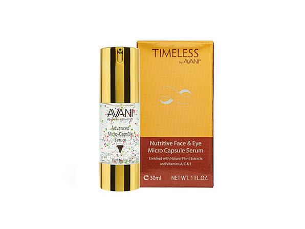 Timeless by AVANI® Nutritive Face & Eye Micro Capsule Serum: 2-Pack