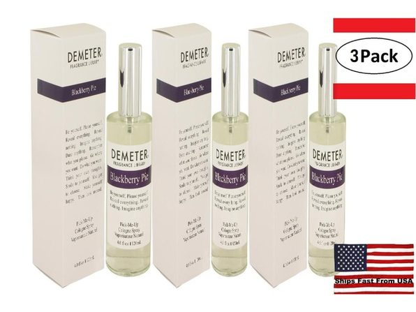 3 Pack Demeter Blackberry Pie by Demeter Cologne Spray 4 oz for Women - Product Image