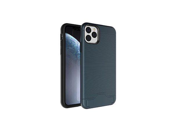 iPhone 11 Case with Hidden Credit Card Slot (Navy)