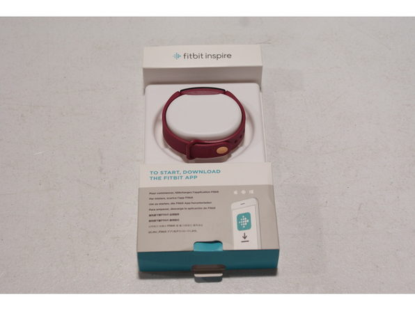 Fitbit FB412BYBY Inspire On Screen Dashboard Fitness Tracker, One Size - Sangria (Used, Open Retail Box)