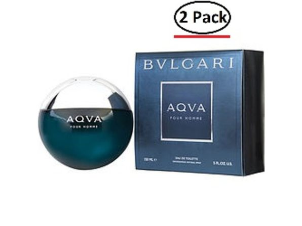 Bvlgari Aqua By Bvlgari Edt Spray 5 Oz For Men (Package Of 2) - Product Image