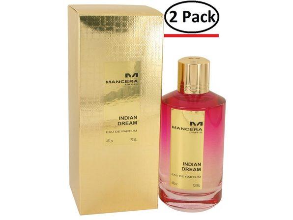 Mancera Indian Dream by Mancera Eau De Parfum Spray 4 oz for Women (Package of 2) - Product Image
