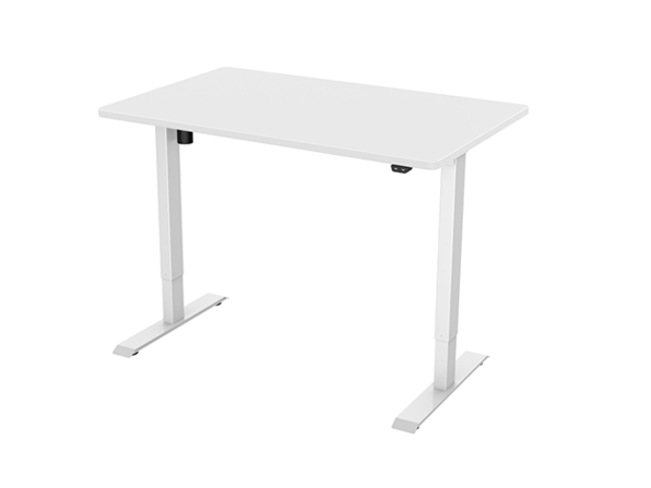 """EC1 Electric Height Adjustable Standing Desk (White/55""""x28"""")"""