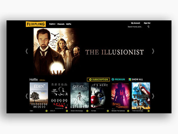 FlixFling Streaming Service: 2-Yr Subscription