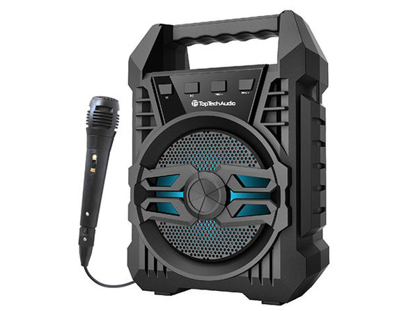 ANGEL 4 Portable Bluetooth Speaker with Dynamic Microphone - Product Image