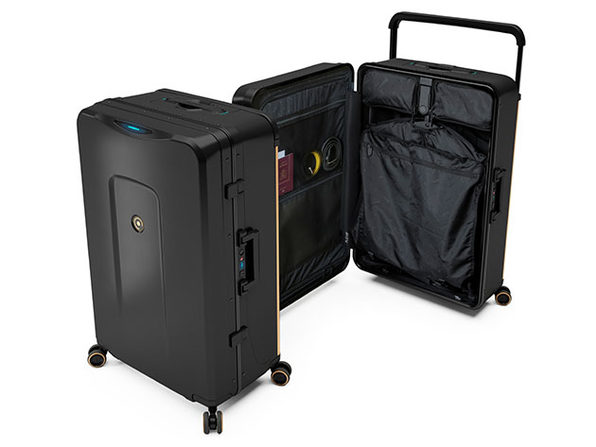 Plevo: Up - World's First Vertical Luggage (Black)