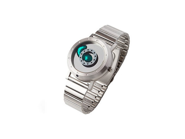 Seahope Fluid Metal Display Quartz Watch