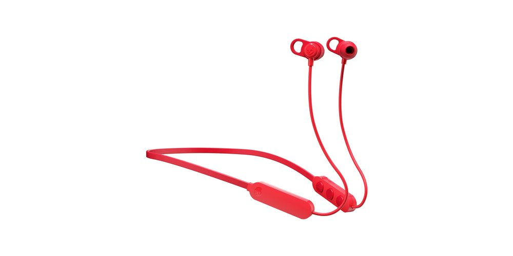 Skullcandy Jib+ Wireless Earbuds (Cherry Red), on sale for $15.99 (15% off)