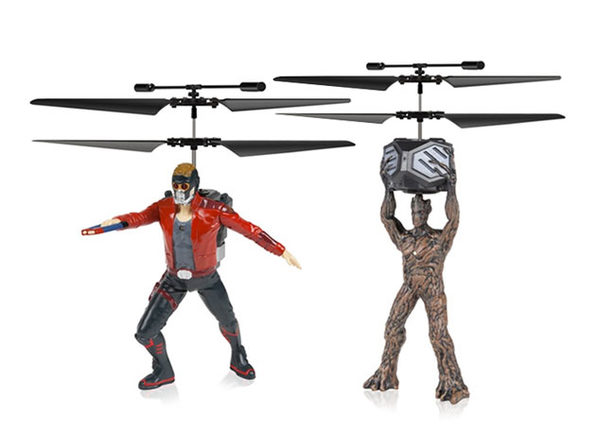 Marvel-Licensed Guardians Of The Galaxy Flying Figures