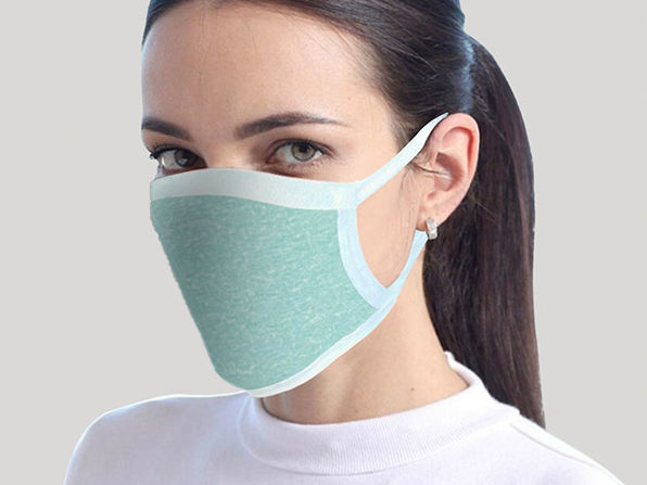 Reusable Face Mask 4-Pack Teal - Product Image