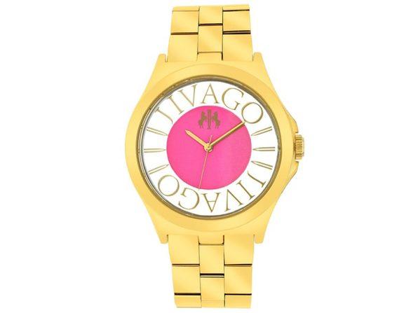Jivago Women's Fun Pink Dial Watch - JV8413