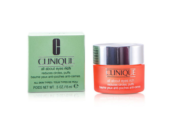 CLINIQUE by Clinique All About Eyes Rich--15ml/0.5oz for WOMEN ---(Package Of 4)