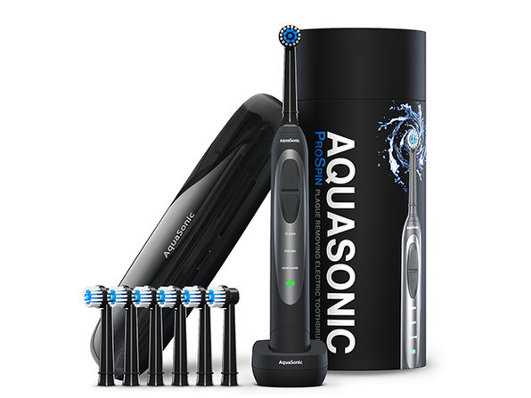 AquaSonic ProSpin Whitening Toothbrush