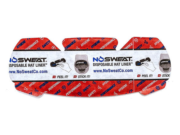 NoSweat® Hat Liners: 25-Pack