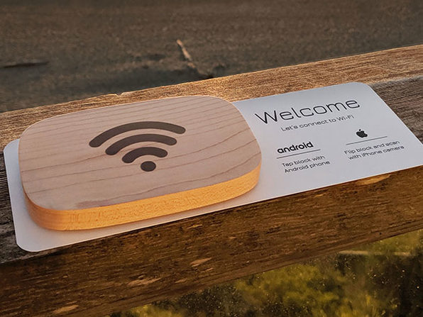 Wifi Porter: NFC-Enabled Device (Maple)