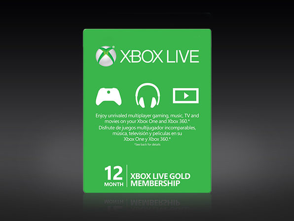 Xbox Live Gold 12 Month Subscription Stacksocial