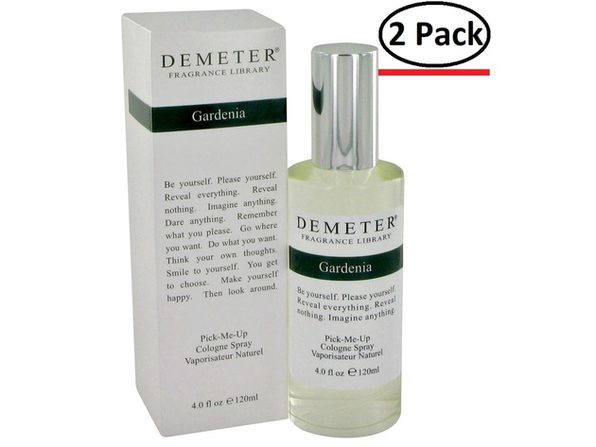 Demeter by Demeter Gardenia Cologne Spray 4 oz for Women (Package of 2) - Product Image
