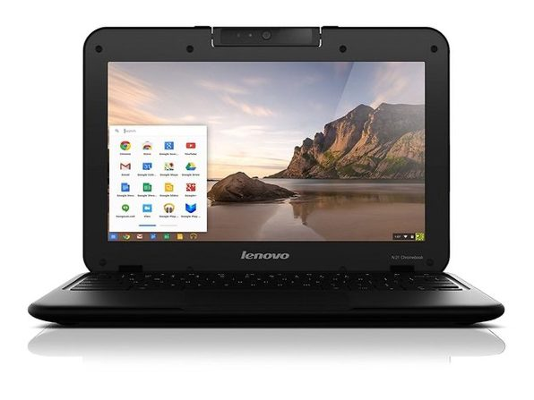 "Lenovo Chromebook N21 11"" Laptop, 2.16GHz Intel Celeron, 4GB RAM, 16GB SSD, Chrome (Renewed)"