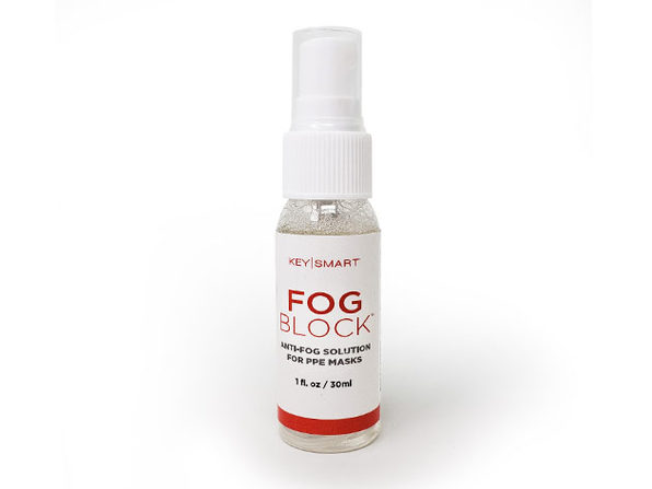 FogBlock™Anti-Fog Solution for PPE Masks & Glasses