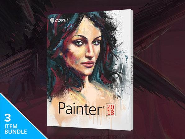 The Corel Painter 2018 Upgrade Bundle