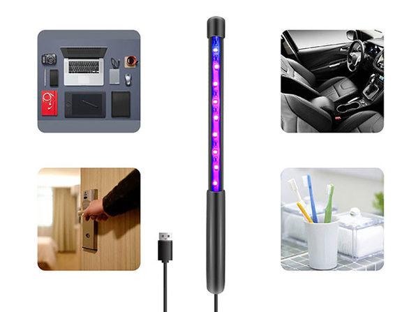 USB-Powered UV-C Sanitizing Wand: 4-Pack