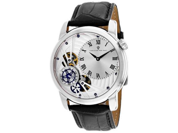 Christian Van Sant Men's Sprocket Auto-Quartz Silver Dial Watch - CV1540 - Product Image