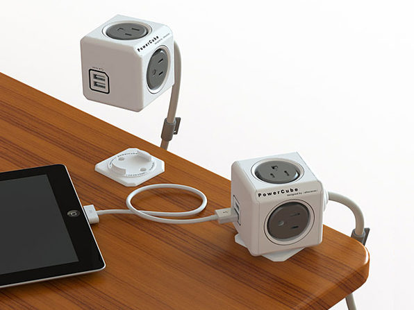 PowerCube Outlet Expander w/ Extension - Product Image
