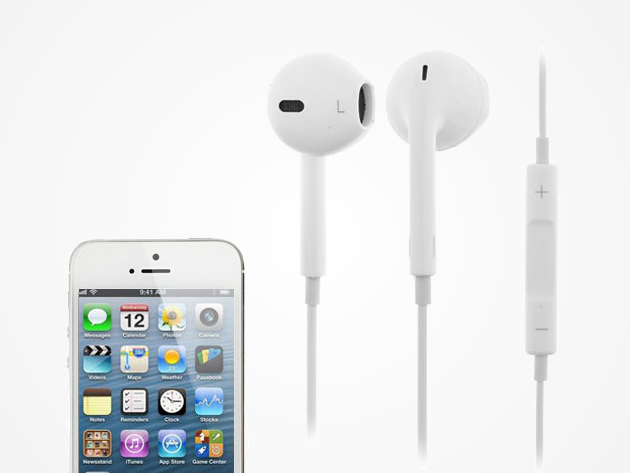 iphone 5 earbuds ergonomic iphone 5 5s headphones stacksocial 10983