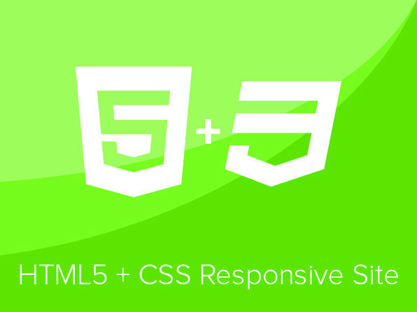 Code a Responsive Website With HTML5 & CSS for Beginners - Product Image