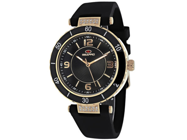 Seapro Women's Seductive Black Dial Watch - SP6414