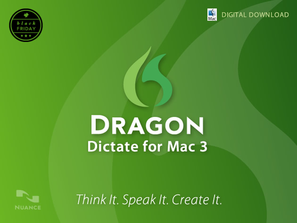 Dragon Dictate For Mac 3 (US & Canada - English Version) - Product Image