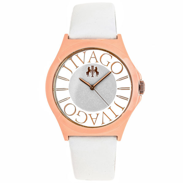 Jivago Women's Fun White Dial Watch - JV8434