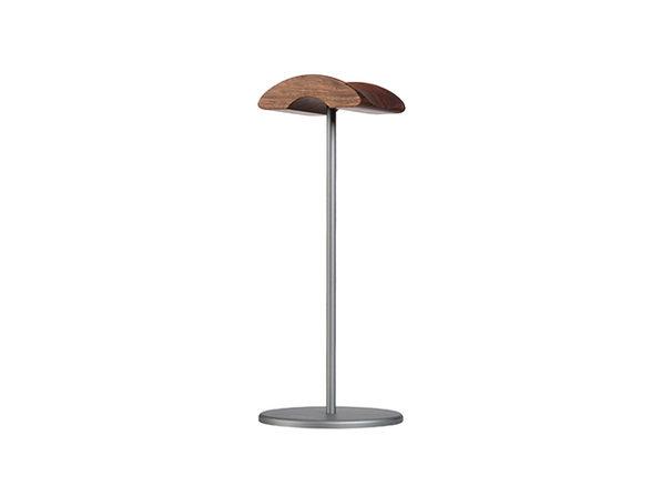 Jokitech Walnut Wooden Aluminum Headphone Stand (Space Gray)